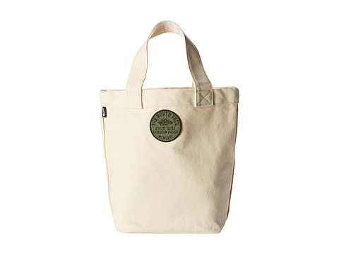 The North Face - Lunch Tote (Natural Creme Circle Patch) Tote Handbags