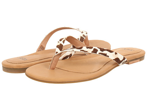 UGG - Allaria II Calf Hair Leopard (Spring Leopard Calf Hair) Women's Sandals
