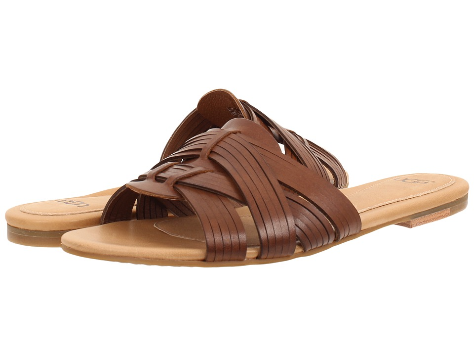 UGG - Chanez (Natural Leather) Women's Sandals