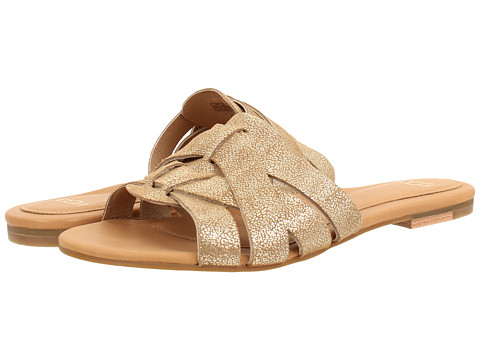 UGG - Chanez Metallic (Chestnut Gold Coast Suede) Women