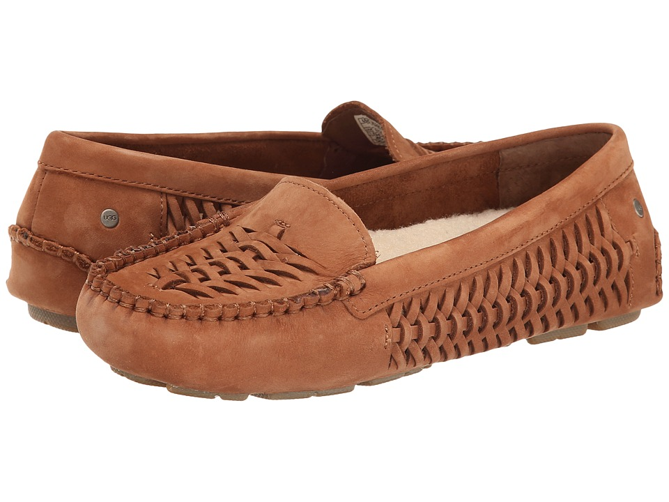 UGG - Clary (Chestnut Nubuck) Women's Slip on Shoes
