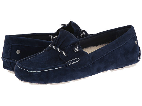UGG - Sayde (Navy Suede) Women's Slip on Shoes
