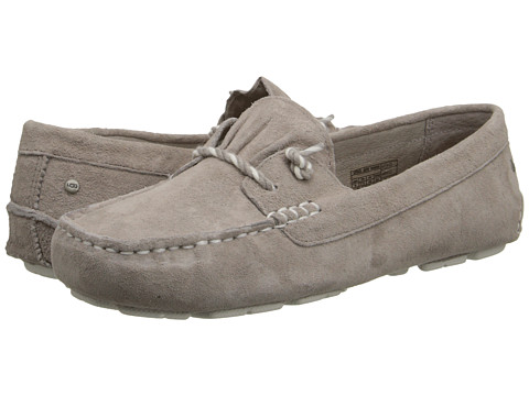 UGG - Sayde (Oyster Suede) Women's Slip on Shoes