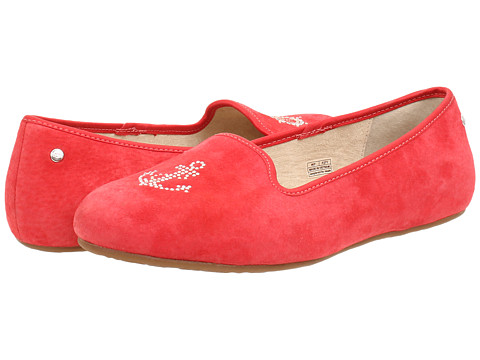 UGG - Sea Glisten (Anchor Red Suede) Women