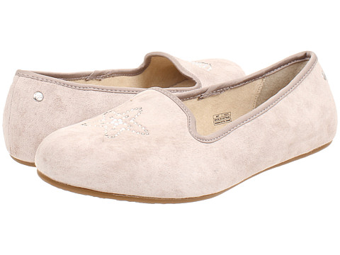 UGG - Sea Glisten (Scallop Oyster Suede) Women's Slip on Shoes
