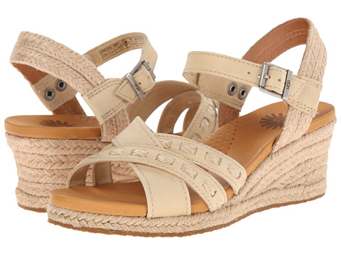UGG - Mairi (Sand Leather) Women's Wedge Shoes