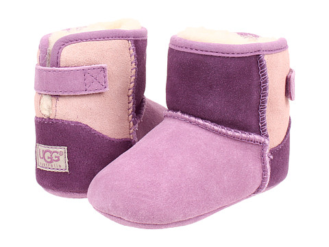 UGG Kids - Jesse Patchwork (Infant/Toddler) (Pink Multi (Suede)) Girl