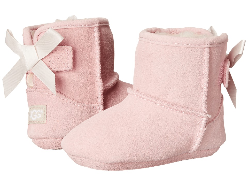 UGG Kids - Jesse Bow (Infant/Toddler) (Baby Pink (Suede)) Girl's Shoes