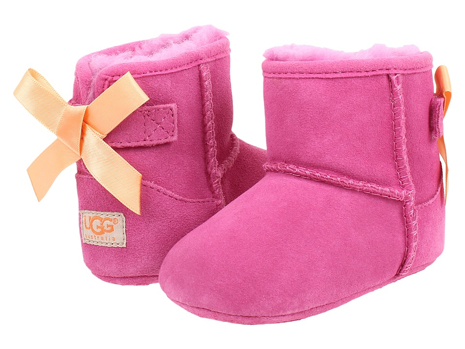 UGG Kids - Jesse Bow (Infant/Toddler) (Princess Pink (Suede)) Girl's Shoes