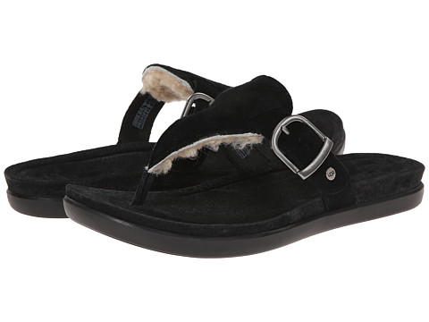 UGG - Vessa (Black Suede) Women's Sandals