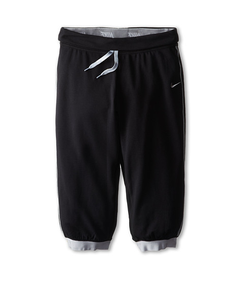 Nike Kids - YA Victory Capri (Little Kids/Big Kids) (Black/Wolf Grey/Wolf Grey) Girl's Capri
