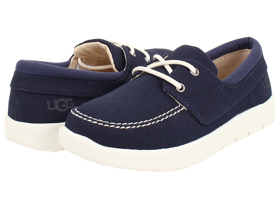UGG Kids - Anchor (Toddler/Little Kid/Big Kid) (New Navy) Boy's Shoes
