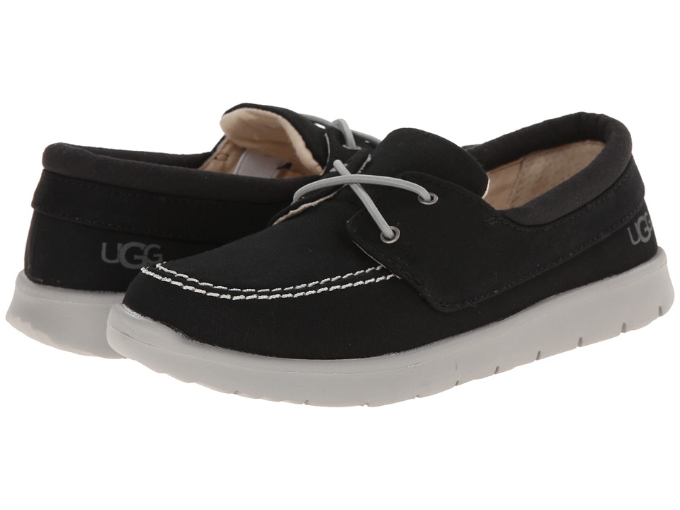 UGG Kids - Anchor (Toddler/Little Kid/Big Kid) (Black (Canvas)) Boy's Shoes