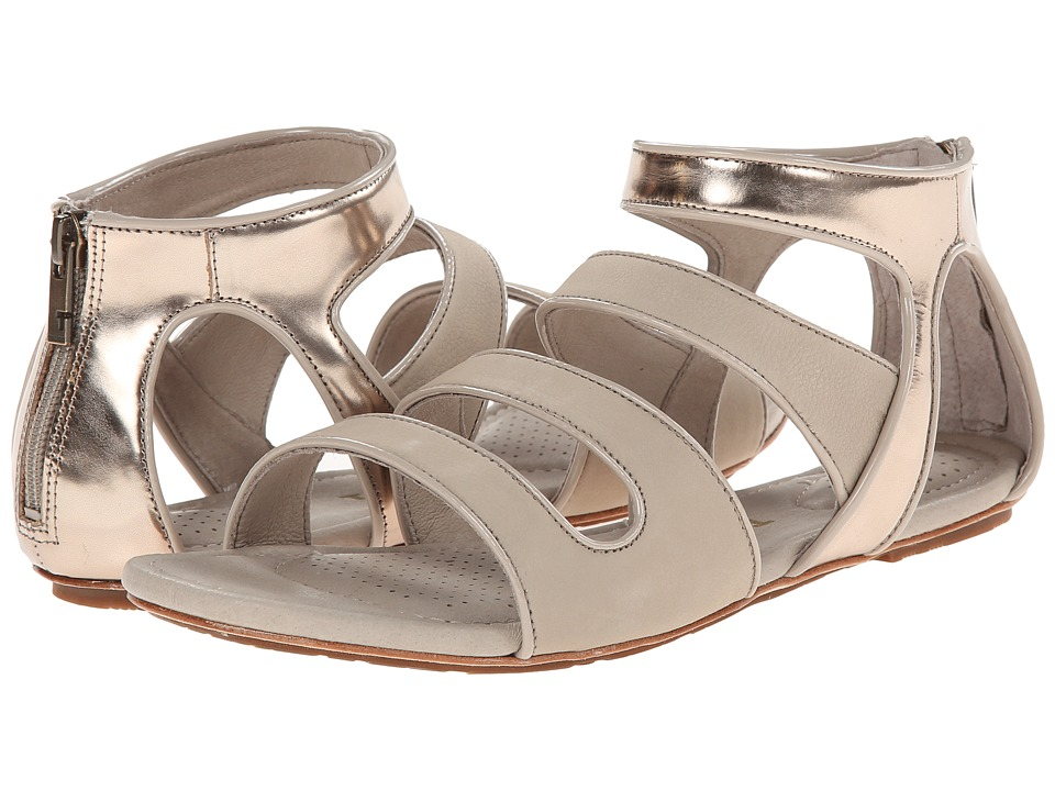 Tsubo - Barbra (Wet Cement/Light Gold) Women's Sandals