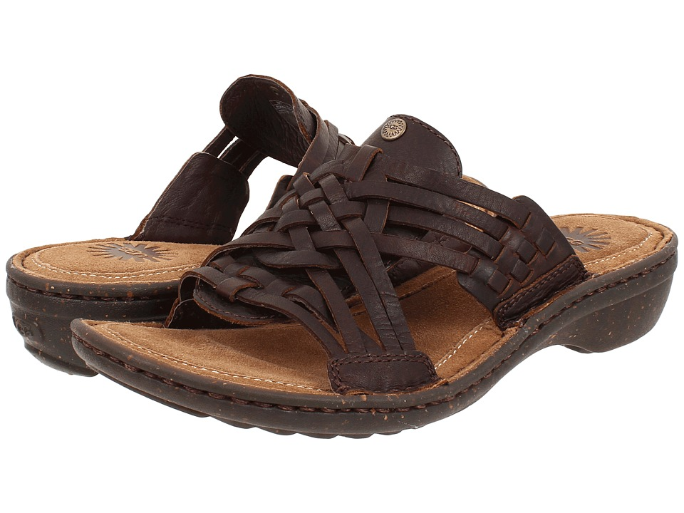 UGG - Keala (Chocolate Leather) Women's Sandals