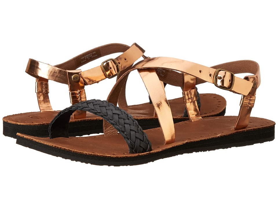 UGG - Jordyne (Rose Gold Leather) Women's Sandals