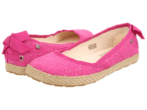 UGG Kids - Tassy Eyelet (Little Kid/Big Kid) (Princess Pink) Girl's Shoes