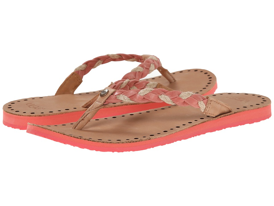 UGG - Navie (Coral Reef Leather) Women's Sandals