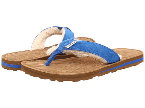 UGG - Tasmina (Marine Blue Suede) Women's Sandals