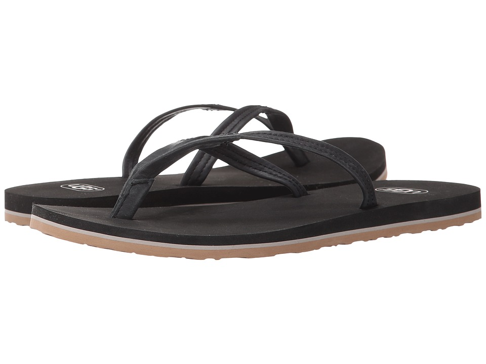 UGG - Magnolia (Black Leather) Women's Sandals