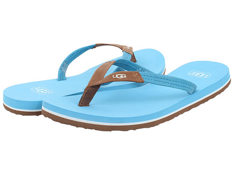 UGG - Magnolia (Brilliant Blue Leather) Women's Sandals