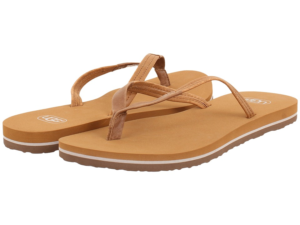 UGG - Magnolia (Chestnut Leather) Women's Sandals