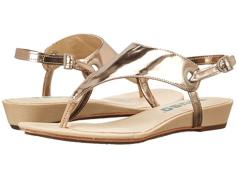 Tsubo - Georgea (Wet Cement Metallic) Women's Sandals