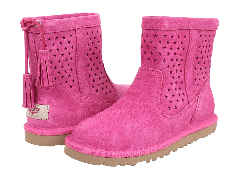 UGG Kids - Kaelou (Toddler/Little Kid/Big Kid) (Princess Pink (Suede)) Girl's Shoes