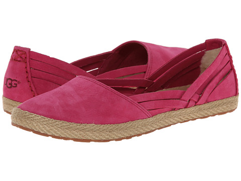 UGG - Cicily (Tropical Sunset Leather) Women's Slip on Shoes
