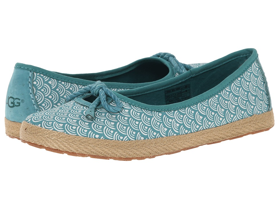 UGG - Syleste Scallop (Marlin Textile) Women's Slip on Shoes