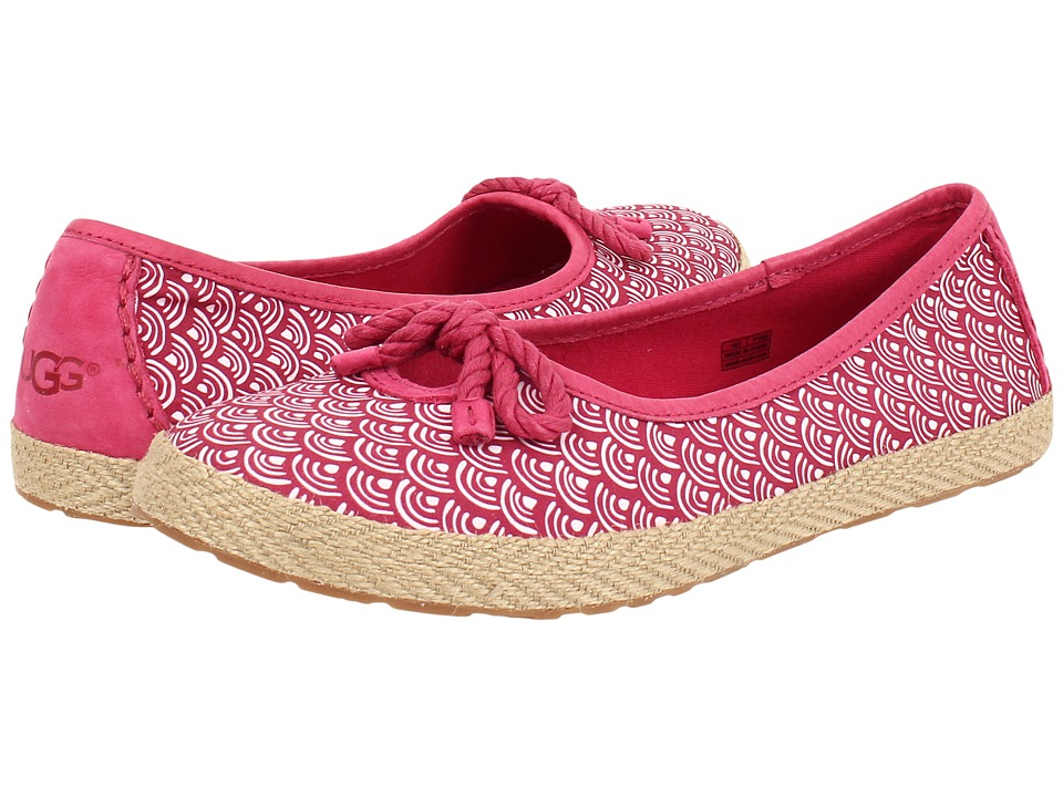 UGG - Syleste Scallop (Tropical Sunset Textile) Women's Slip on Shoes