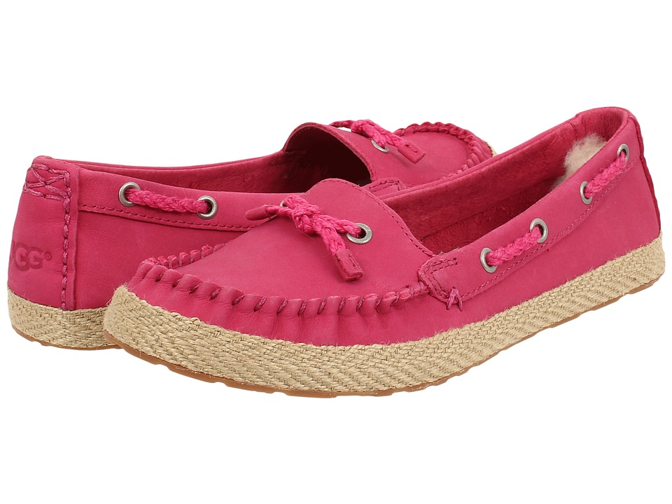 UGG - Chivon (Tropical Sunset Leather) Women's Flat Shoes