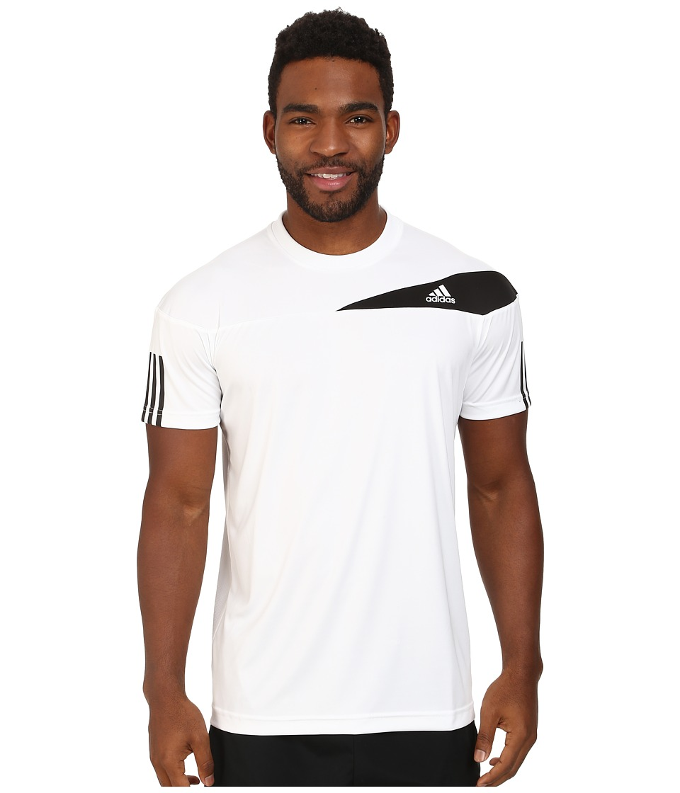 adidas - Response Tee (White/Black 2) Men
