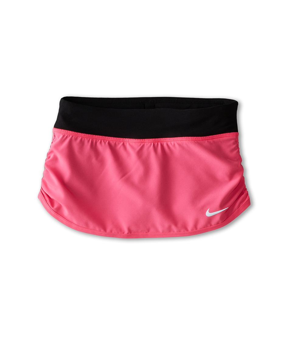 Nike Kids - Rival Skirt (Little Kids/Big Kids) (Pink Pow/Black/Pink Pow) Girl