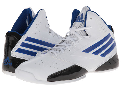adidas - 3 Series 2014 (Core White/Collegiate Royal/Black) Men's Basketball Shoes