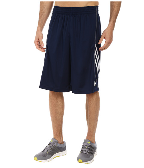 adidas - Basic Short 1 (Collegiate Navy/White) Men