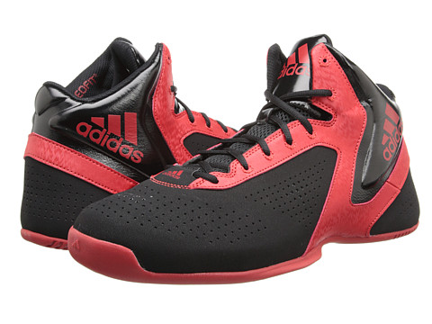 adidas - NXT LVL SPD 3 (Black/Scarlet) Men's Basketball Shoes