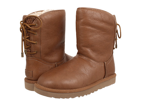 UGG - Mariana (Chestnut Leather) Women's Lace-up Boots