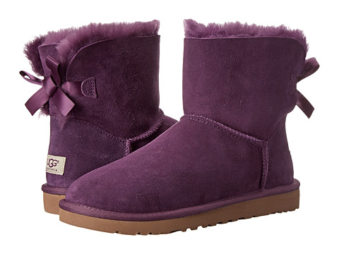 UGG - Mini Bailey Bow (Anemone Twinface) Women