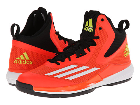 adidas - Title Run (Solar Red/Core White/Black) Men's Basketball Shoes