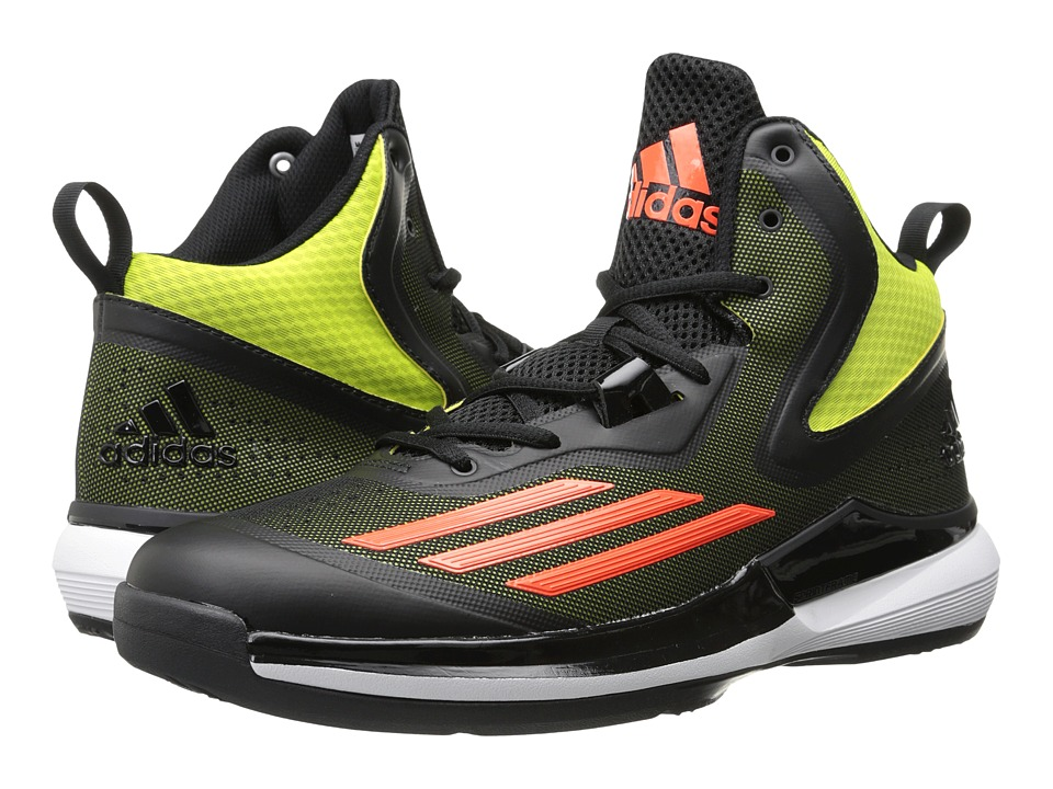 adidas - Title Run (Semi Solar Yellow/Solar Red/Black) Men's Basketball Shoes