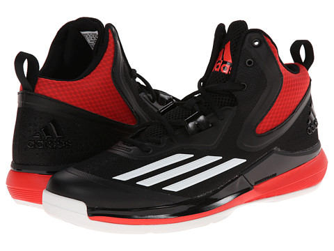 adidas - Title Run (Black/Core White/Bright Red) Men