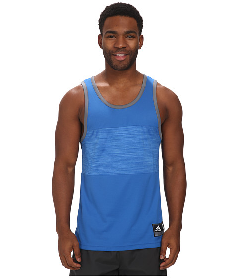 adidas - Team Speed Tank (Bright Royal/Vista Grey) Men