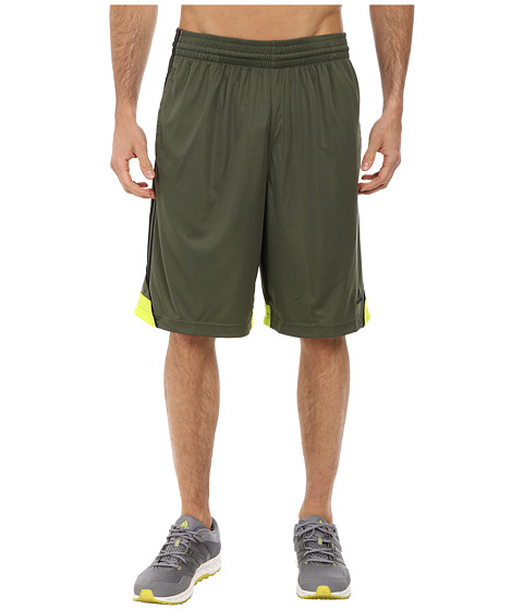 adidas - 3G Speed Short (Base Green/Semi Solar Yellow/Black) Men's Shorts