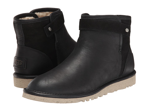 UGG - Rella (Black Leather/Nubuck) Women