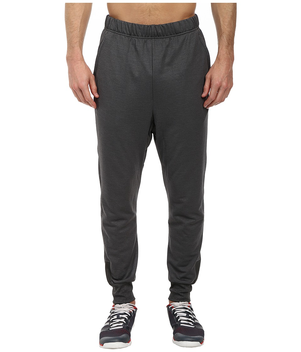 adidas - Beyond The Run Pant (Dark Grey Heather/Black) Men's Casual Pants
