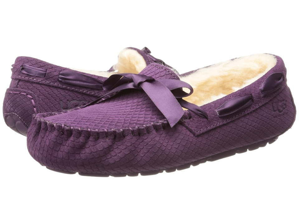 UGG - Dakota Exotic Scales (Anemone Suede) Women's Slippers