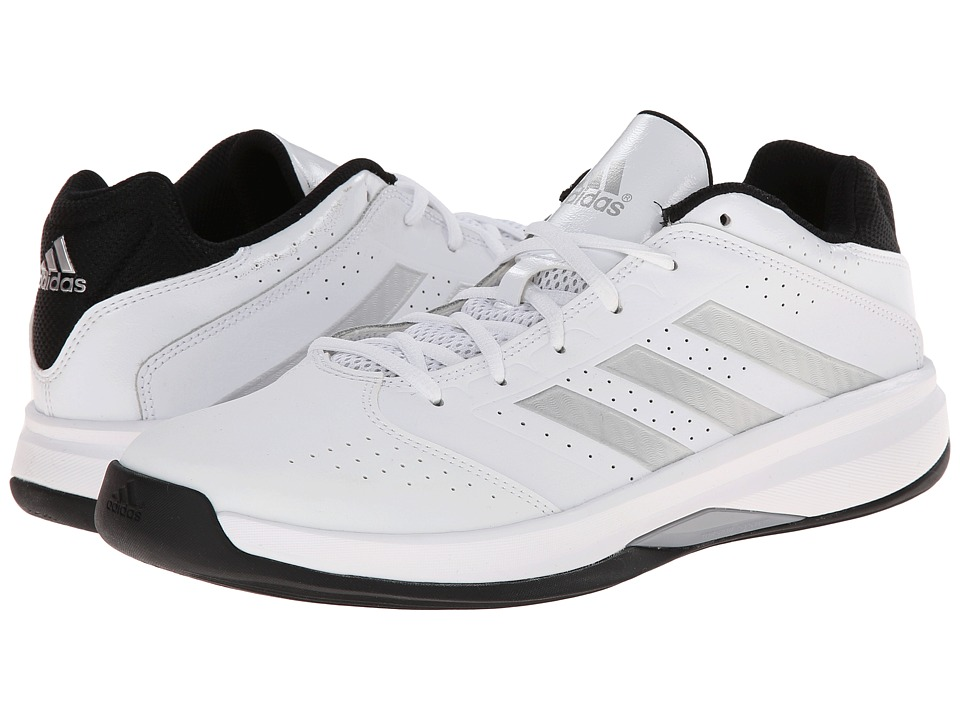 adidas - Isolation 2 Low (Core White/Silver Metallic/Black) Men's Shoes