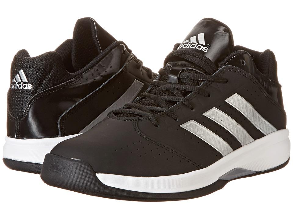 adidas - Isolation 2 Low (Black/Metallic Silver/Core White) Men's Shoes