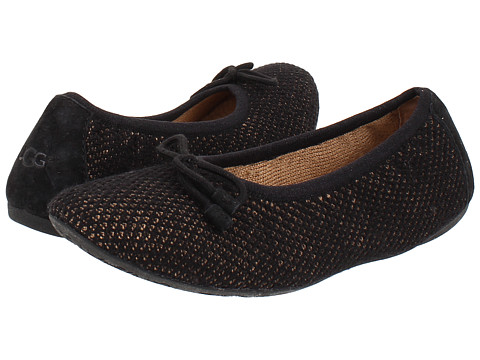 UGG - Brig (Black Knit) Women's Slippers